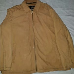 REAL PROTECTION WEATHERPROOF SUEDE LEATHER JACKET